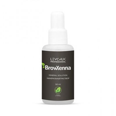 BrowXenna, Минеральный раствор, 50 мл Средство с минеральным составом для смешивания хны.
