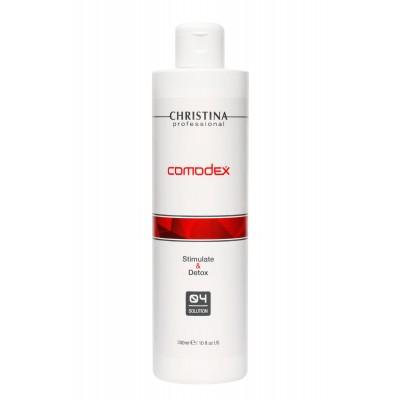 Comodex Stimulate & Detox Solution - Стимулирующий детокс-лосьон (шаг 4) - 300мл