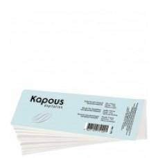 Kapous Полоски для депиляции , спанлейс, 7*20см, 100 шт/уп