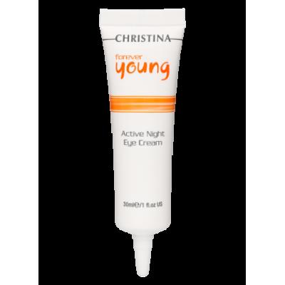 Forever Young Active Eye Night Cream  Активный ночной крем для кожи вокруг глаз, 30 мл