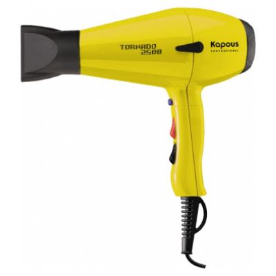 Профессиональный фен «Tornado 2500», желтый