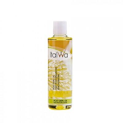 Italwax, Масло после депиляции Лимон, 250 мл