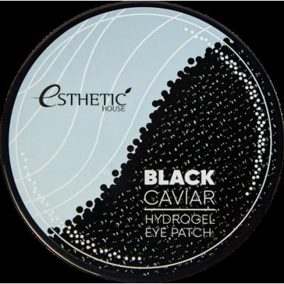 Гидрогелевые патчи для глаз ЧЕРНАЯ ИКРА Black Caviar Hydrogel Eye Patch, 60 шт