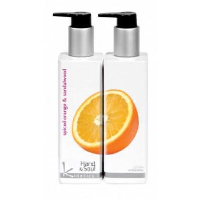 Лосьон для рук и тела Пряный апельсин и Сандаловое дерево Kinetics 250 мл
