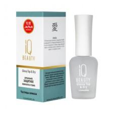 IQ Beauty, Зеркальное защитное покрытие и сушка Glossy Top&Dry, 12,5 мл