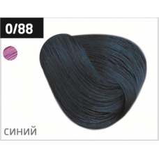 OLLIN performance 0/88 синий 60мл перманентная крем-краска для волос