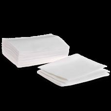 Полотенце из хлопка с тиснением Эконом Белый 45х90 50 шт/уп поштучно