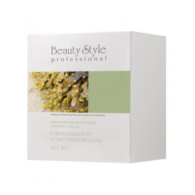 Альгинатная анти-эйдж лифтинг-маска с фукоиданом и экстрактом икры, Beauty Style, 30 г*1 шт