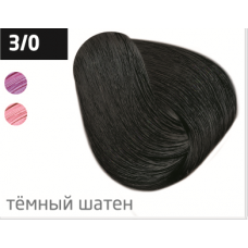 OLLIN performance 3/0 темный шатен 60мл перманентная крем-краска для волос