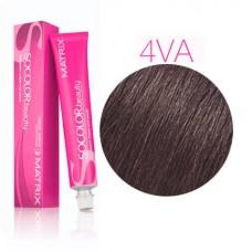 Matrix Socolor Beauty 4VA шатен перламутрово-пепельный - Стойкая крем-краска для волос