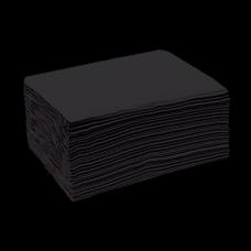 Полотенце Спанлейс Эконом Черный 35х70 50 шт/уп поштучно