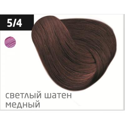 OLLIN performance 5/4 светлый шатен медный 60мл перманентная крем-краска для волос
