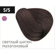 OLLIN performance 5/5 светлый шатен махагоновый 60мл перманентная крем-краска для волос