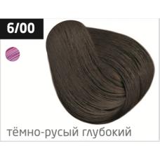OLLIN performance 6/00 темно-русый глубокий 60мл перманентная крем-краска для волос