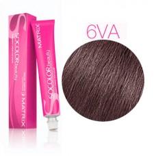 Matrix Socolor Beauty 6VA темный блондин перламутрово-пепельный - Стойкая крем-краска для волос