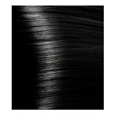 HY 1.00 Черный интенсивный, крем-краска для волос с гиалуроновой кислотой, 100 мл