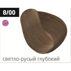 OLLIN performance 8/00 светло-русый глубокий 60мл перманентная крем-краска для волос