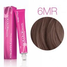 Matrix SoColor Beauty 6MR (Темный блондин мокка красный) - Крем-краска для волос