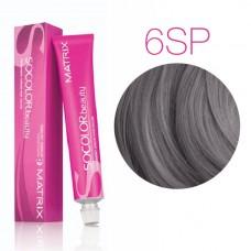 Matrix Socolor Beauty 6SP (Темный блондин серебристо-жемчужный) - Стойкая крем-краска для волос