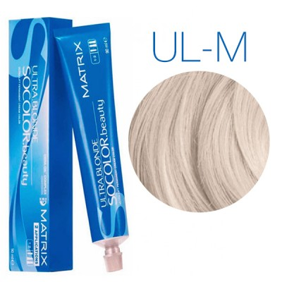 Matrix SoColor Beauty Ultra Light Blondes UL-М (Мокка) - Крем-краска для волос