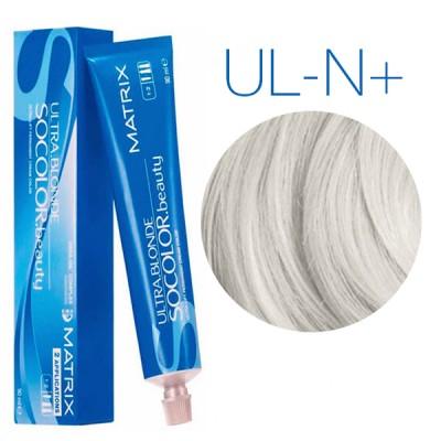 Matrix SoColor Beauty Ultra Light Blondes UL-N+ (Натуральный плюс) - Крем-краска для волос