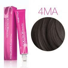 Matrix SoColor Beauty 4MА (Шатен мокка пепельный) - Крем-краска для волос