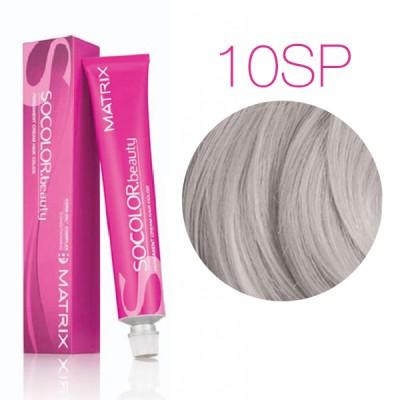 Matrix Socolor Beauty 10SP (Очень очень светлый блондин серебристый жемчужный) - Стойкая крем-краска для волос