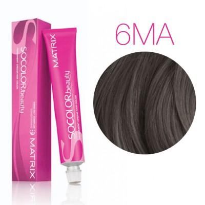 Matrix SoColor Beauty 6MА (Темный блондин мокка пепельный) - Крем-краска для волос