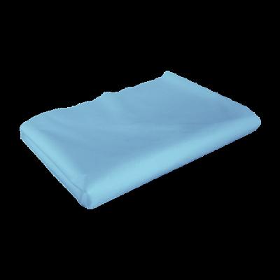 Простыня Спанбонд 30 г/м.кв Голубой 200х80 50 шт пластом