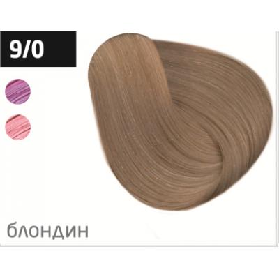 OLLIN performance 9/0 блондин 60мл перманентная крем-краска для волос