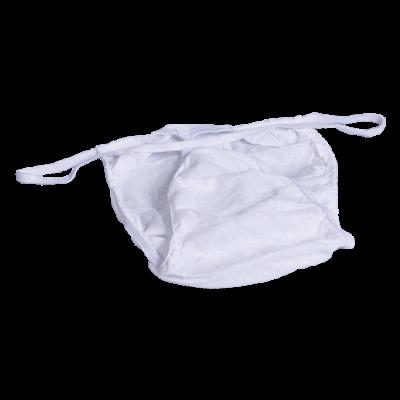 Трусы мужские бикини Спанлейс Белый 25 шт/уп поштучно