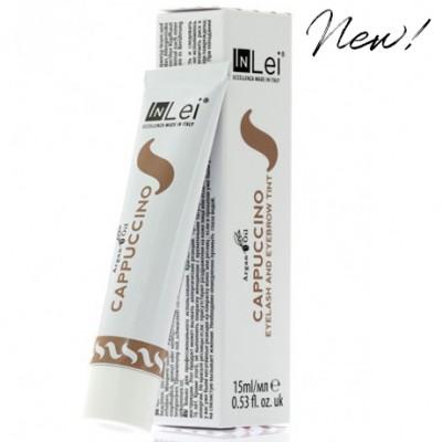 InLei® Краска для ресниц и бровей; цвет: капучино (CAPPUCCINO); Объем: 15 мл