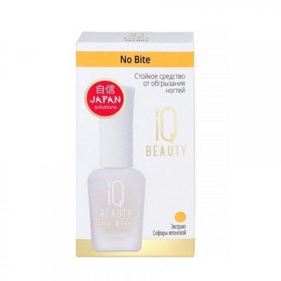 IQ Beauty, Стойкое средство от обгрызания ногтей No Bite, 12,5 мл