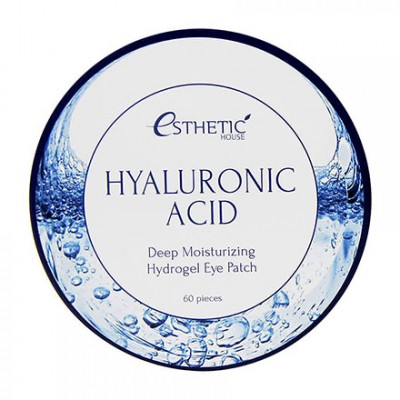 Esthetic House, Гидрогелевые патчи для глаз Hyaluronic Acid, 60 шт.