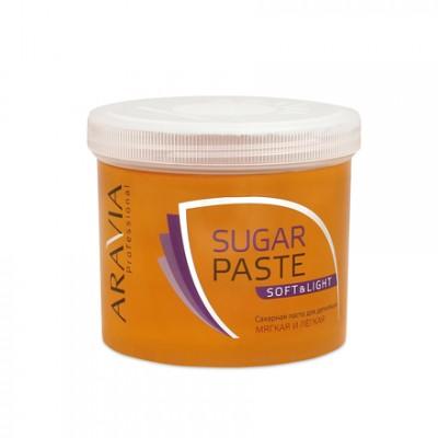 ARAVIA Professional, Сахарная паста «Мягкая и легкая» (мягкой консистенции), 750 г