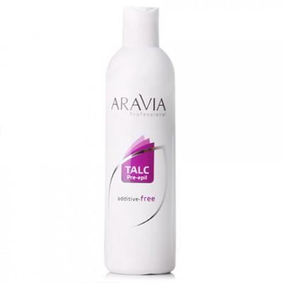 ARAVIA Professional, Тальк без отдушек и химических добавок, 100 г
