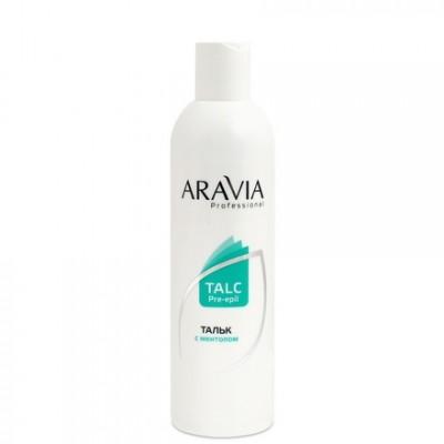 ARAVIA Professional, Тальк с ментолом, 300 мл