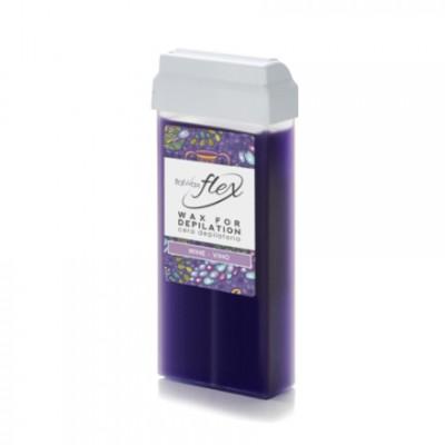 Italwax, Воск Flex в картридже, вино, 100 мл