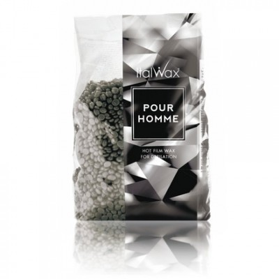 Italwax, Воск горячий (пленочный) Pour Homme, гранулы, 1 кг