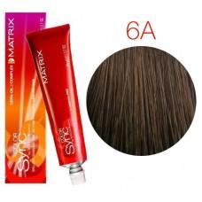 Matrix Color Sync 6A темный блондин пепельный, тонирующая краска для волос без аммиака