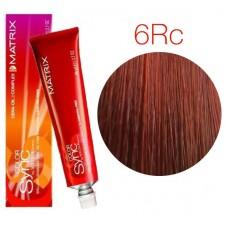 Matrix Color Sync 6RC+ темный блондин красно-медный, тонирующая краска для волос без аммиака