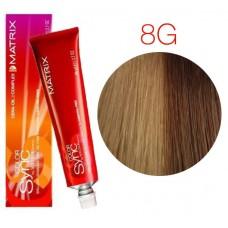 Matrix Color Sync 8G светлый блондин золотистый, тонирующая краска для волос без аммиака