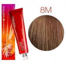 Matrix Color Sync 8M светлый блондин мокка, тонирующая краска для волос без аммиака