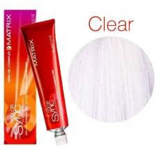 Matrix Color Sync Clear Многофункциональный прозрачный оттенок, тонирующая краска для волос без аммиака