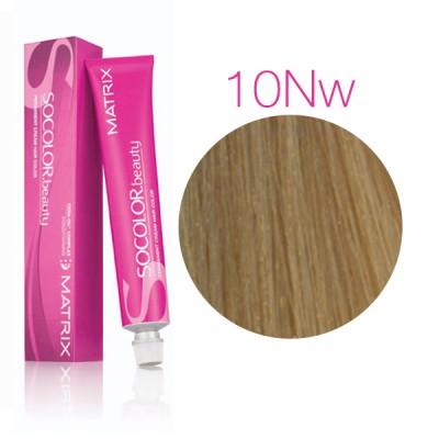 Matrix Socolor Beauty 10NW очень-очень светлый блондин натуральный теплый, стойкая крем-краска для волос
