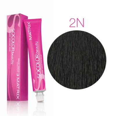 Matrix Socolor Beauty 2N черный, стойкая крем-краска для волос