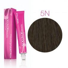 Matrix Socolor Beauty 5N светлый шатен, стойкая крем-краска для волос