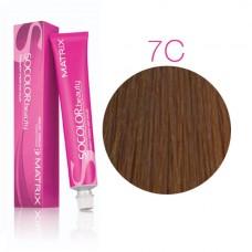Matrix Socolor Beauty 7C блондин медный, стойкая крем-краска для волос