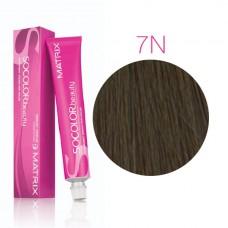 Matrix Socolor Beauty 7N блондин, стойкая крем-краска для волос