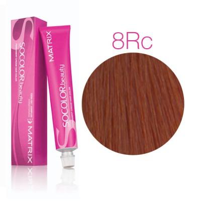 Matrix Socolor Beauty 8RC Светлый блондин красно-медный, стойкая крем-краска для волос